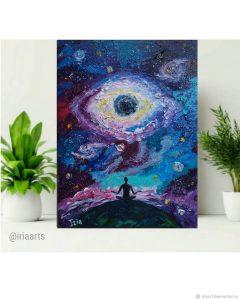 картина космос медитация Iria Айриа